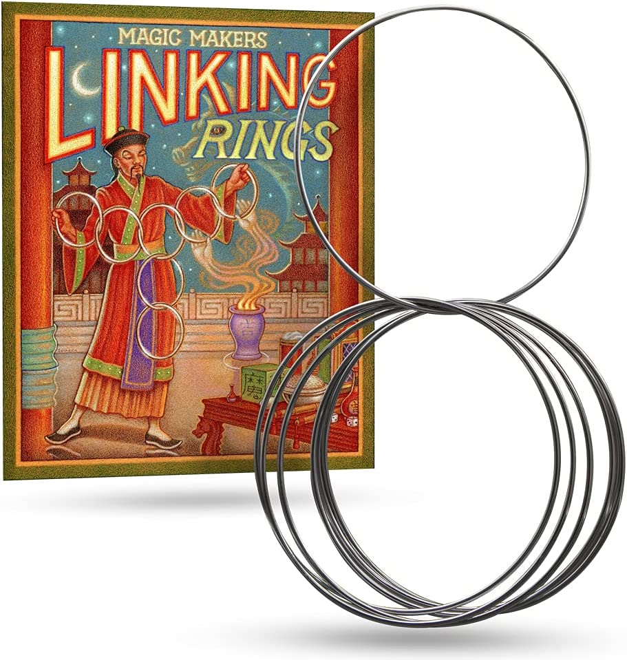 Magic Makers Linking Rings Set of Manufacturer OFFicial shop 10 Diame Inch - Opening large release sale 8 Large