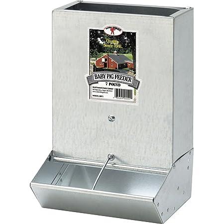 brower single door hog feeder)