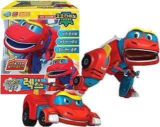 GOGO Dino Dinosaur Expedition Sound Toys Rex Transformation Robot Dinosaur Car Toy