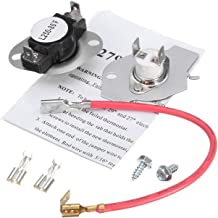 3977393 Thermostat Thermal Fuse For Whirlpool Roper Clothes Dryer