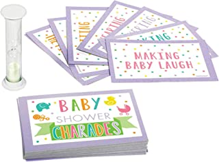 Amscan Baby Shower Charades Game - All Ages