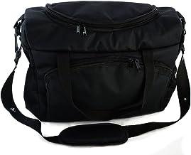 Bolso Parasilla de paseo organizador Bolsa para pañales Black Negro [059]
