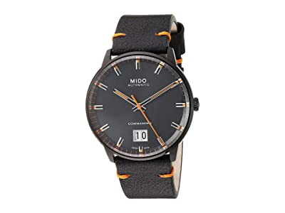 Mido Commander Big Date Black PVD Case and Bracelet M0216263605101 (Black) Watches