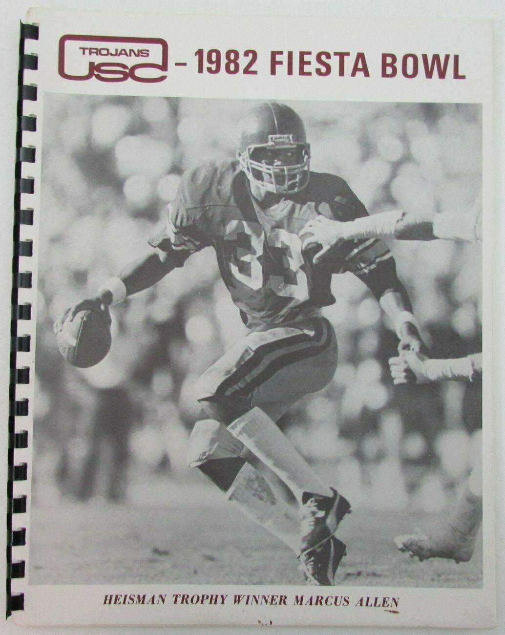 Virginia New Orleans Mall Beach Mall 1982 Fiesta Bowl USC Trojans Media Marcus Penn Allen Guide State