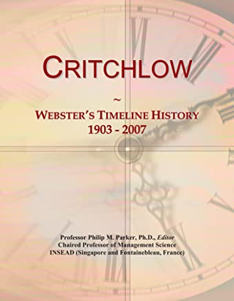 Critchlow: Websters Timeline History, 1903-2007