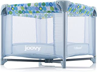 Joovy Toy Room2 Playard, Blue Dot