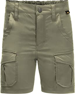 Jack Wolfskin Treasure Hunter Shorts Enfants Shorts Enfant Khaki FR: XXS (Taille Fabricant: 140)