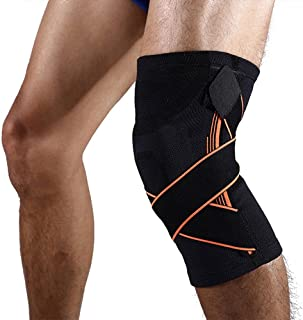 MIS1950s Joint Support Non-Slip Knee Pads Sports Patella Support Breathable Sleeve Compression Knee Brace for Running Jogging