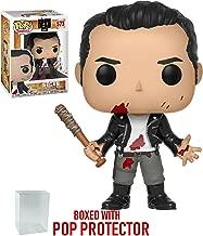 Funko Pop! TV: The Walking Dead - Negan (Clean Shaven) #573 Vinyl Figure (Bundled with Pop Box Protector Case)