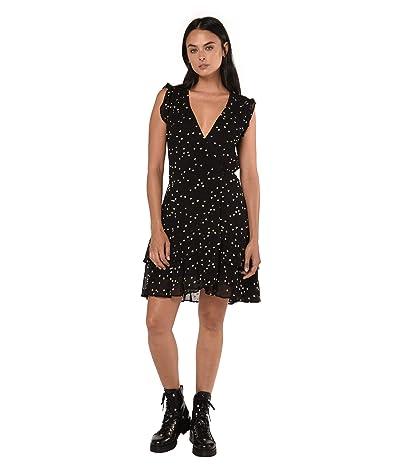 AllSaints Lana Hearts Dress (Black) Women