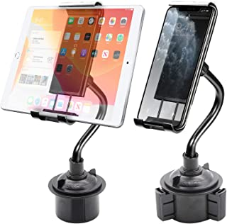 Cellet Cup Holder Phone Mount Adjustable Gooseneck Designed Compatible With iPad Pro Air Mini iPhone 11 Pro Max Xr Xs Max X SE 8 Plus 7 6 Note 10 5G 9 Galaxy S10 5G S10 S10e S10+ J2 S9 S8 Pixel 4 3 XL