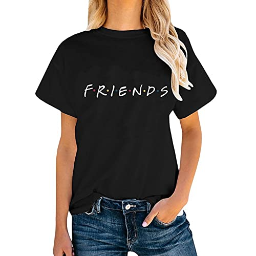 65e1436adbf1c Friends TV Show Shirt Summer Graphic Tees Tops