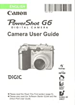 canon powershot g6 user manual