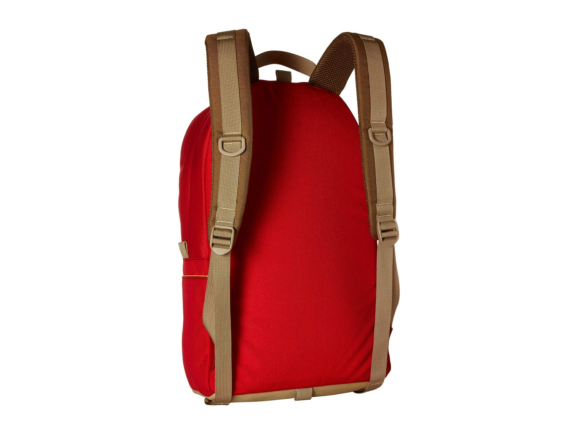 Topo Daypack Designs khaki Leather Red SSFqwTr