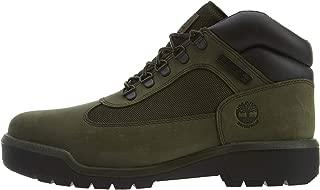green timberland field boots