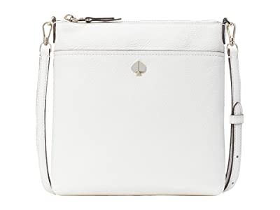 Kate Spade New York Polly Small Swing Pack (Optic White) Bags