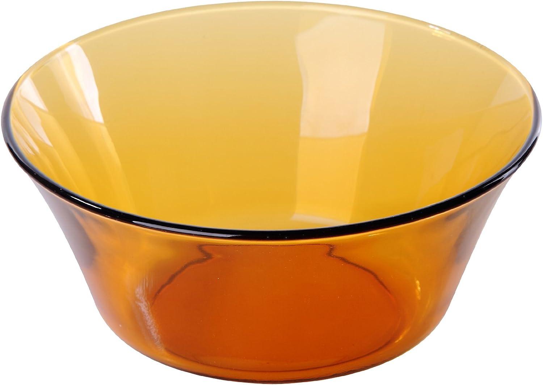 Duralex Lys Vermeil 2007DF06A1111 - Ensaladera, 17 cm, 910 ml, cristal, color ámbar