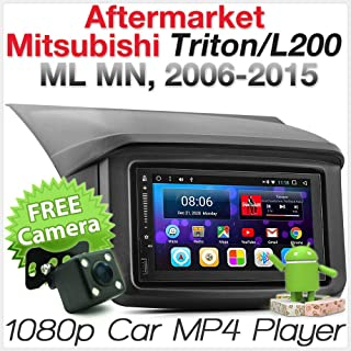 Tunez Android Car MP3 Player Aftermarket Mitsubishi Challenger PB PC 2008-2015 Radio Stereo Fascia