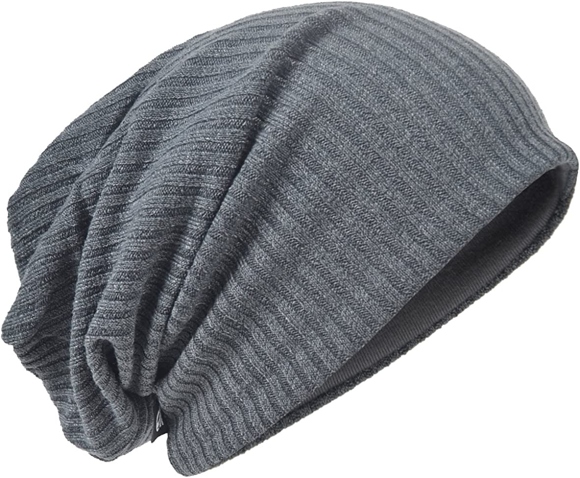 Mens wholesale Slouchy Beanie Max 65% OFF Oversize Knit Baggy Long Skull Hat Cap