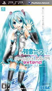 Hatsune Miku: Project Diva Extend (Sony PSP)[Japanese Language Import]