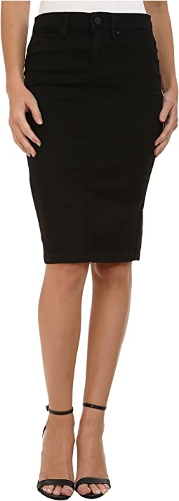 Black Pencil Skirt in Nightchild