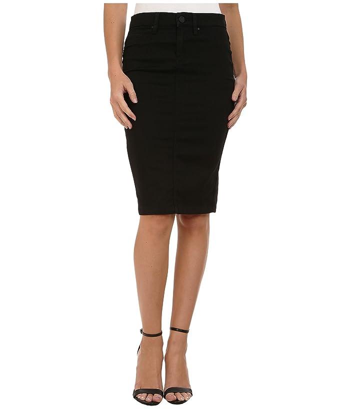 Blank NYC Black Pencil Skirt in Nightchild (Nightchild) Women
