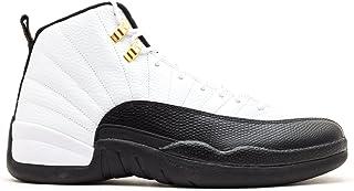 online store b4ccf a6e8e Nike Air Jordan 12 Retro  quot Taxi quot  de basket-ball en cuir Chaussures