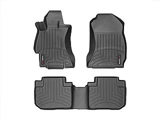 WeatherTech Custom Fit FloorLiner for Subaru Forester - 1st & 2nd Row (Black)