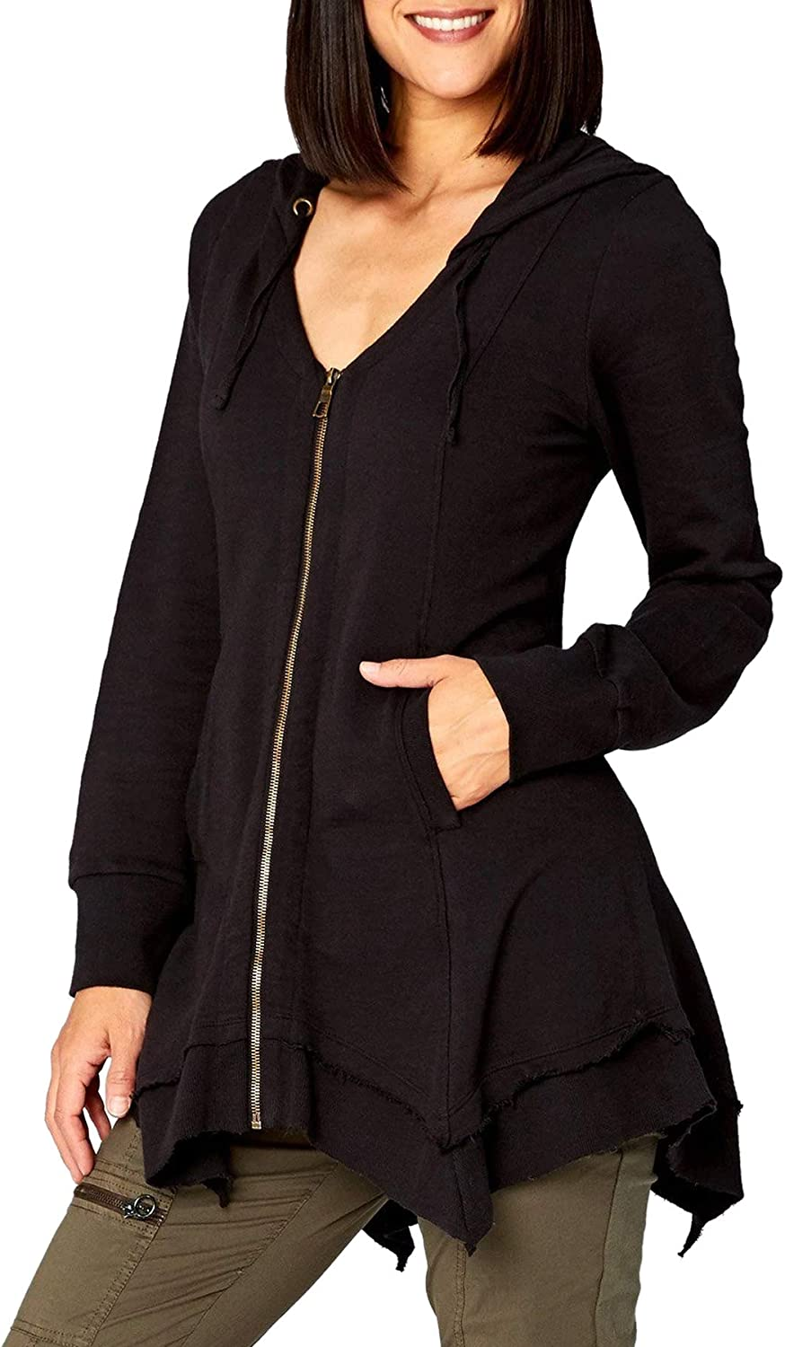 Wearables by XCVI Women's Long Colorado Springs Mall Sleeve Jacket Mercantile Super beauty product restock quality top!
