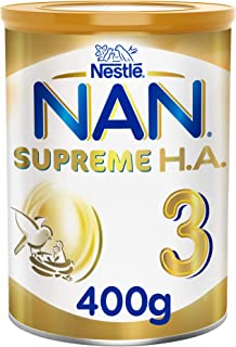 Nestle NAN SUPREME H.A. Stage 3, 1 to 3 years, Hypoallergenic Growing Up Milk 400g