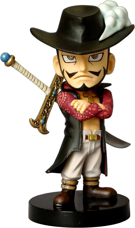 Bobbing Head [One Piece] Dracule Mihawk (PVC Figure) (japan import)