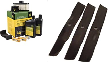 John Deere Original Equipment Full Maintenance Kit - LG265 + (3) M143520 Blades