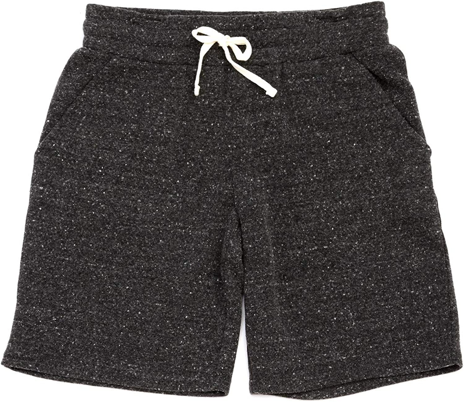 Threads 4 Thought Boys Triblend Knit Short - Heather Black - 8