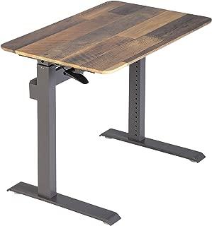 VARIDESK - ProDesk 36 - Compact Full Desk Workstation for Laptops - Reclaimed Wood