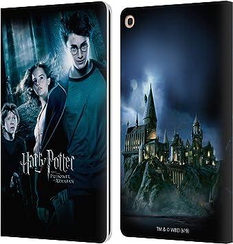 Oficial Harry Potter Ron, Harry & Hermione Poster 2 Prisoner of Azkaban IV Carcasa de Cuero Tipo Libro Compatible con Samsung Galaxy Tab A 10.1 2019