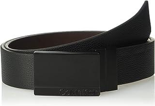 Calvin Klein Men's 35mm Reversible Pebble Leather Belt