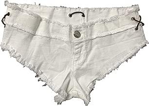 COSYOU Women Sexy Mini Denim Jeans Shorts Micro Mini Hot Pants