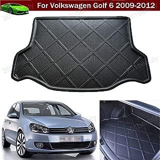 Kaitian Car Mat Car Boot Pad Carpet Cargo Mat Trunk Liner Tray Cargo Liner Floor Mat for Volkswagen VW Golf MK6 2009 2010 2011 2012.