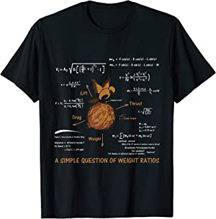 A Simple Question Of Weight Ratios Funny Math Teacher Gift T-Shirt