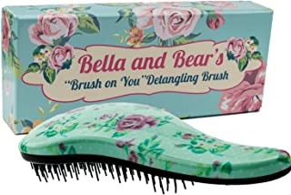 Detangling Hair Brush the Best Detangler Brush for Wet or Dry Hair, glide thru bristles so no more tangles no more tears.