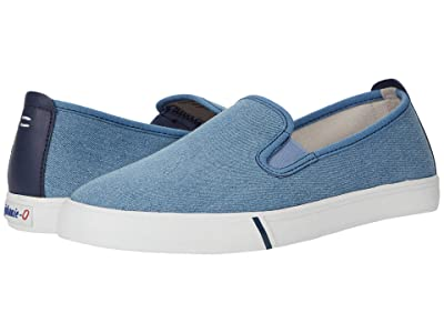 johnnie-O Stealth Slip-On Sneaker (Washed Chambray) Men