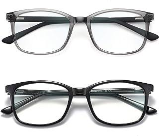 Blue Light Blocking Glasses for Women Men Computer Glasses TR Lightweight Blue Ray Filter Anti Eye Strain Non Prescription...