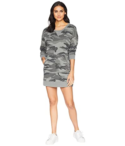 Splendid Courtside Camo Dress (Vintage Olive Branch) Women