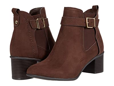 Kenneth Cole Reaction Corey 45 Bootie (Chocolate Microsuede) Women