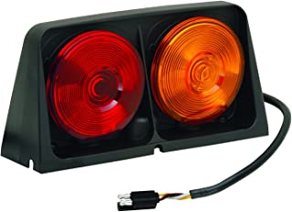 WESBAR AGRICULTURAL LIGHTS DUAL AG LIGHT W/RED/BLANK AMBER/AMBER, INC RIGHT HAND MOLDED TRI-PLUG