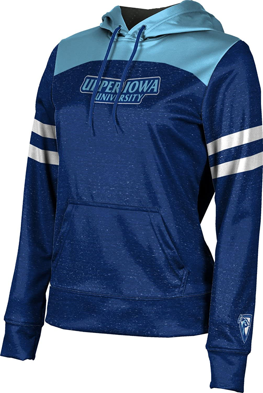 Upper Iowa University Girls' Pullover Hoodie, School Spirit Sweatshirt (Game Time)