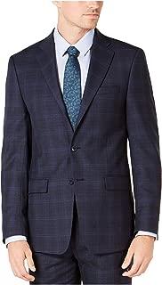 Mens Slim-Fit Two Button Suit