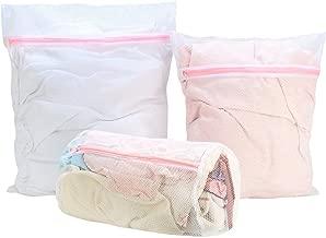 HOKIPO® Mesh Laundry Clothes Washing Bag, Pack of 3
