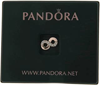 Pandora Womens 925 Sterling Silver Fashion Bead Charm - 782178CZ, Color Rose Gold, Size 0.47 Inches