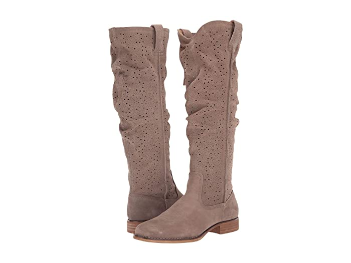 Adrina  Shoes (Taupe Suede) Women's Boots